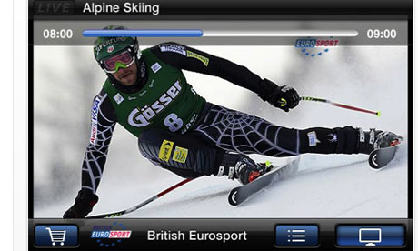 eurosport new application