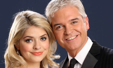 Dancing on Ice hosts Holly Willoughby and Phillip Schofield