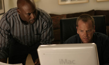 Wayne Palmer and Jack Bauer in 24