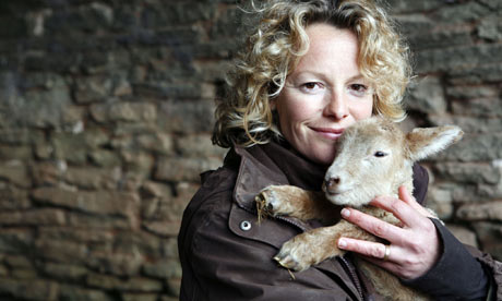 Kate Humble on Lambing Live