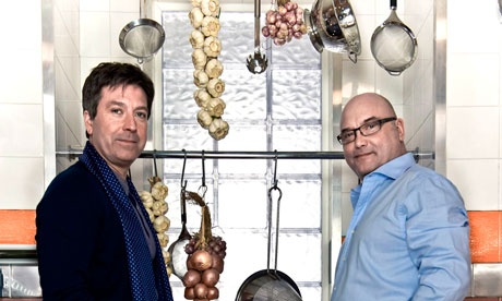 Celebrity Masterchef 2010 John Torode and Gregg Wallace