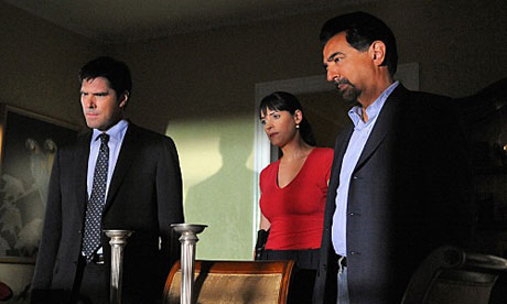 Criminal Minds series 6: Hotchner, Prentiss and Rossi