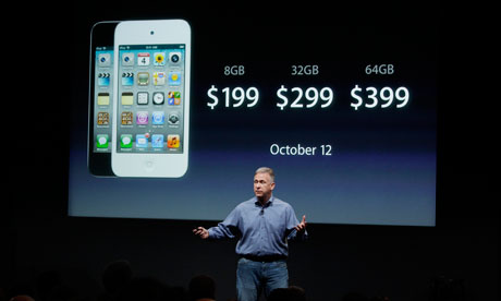 Phil Schiller introduces the iPhone 4S