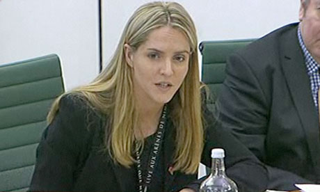 Louise Mensch questions James Murdoch - November 2011