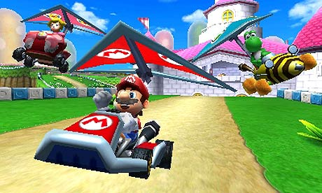 mario kart 7 review technology the guardian. Black Bedroom Furniture Sets. Home Design Ideas