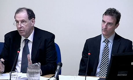 Leveson inquiry: Chris Johnson and Matthew Bell