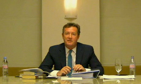 Leveson inquiry: Piers Morgan