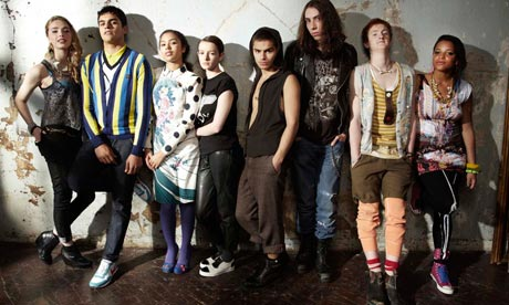 Cast of skins dating