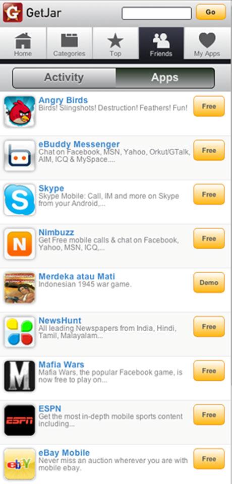 Getjar App Store