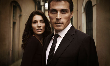 Zen: Tania Moretti and Rufus Sewell