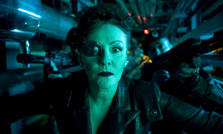 Doctor Who: Frances Barber as Kovarian