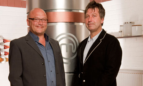 Celebrity Masterchef presenters Gregg Wallace and John Torode