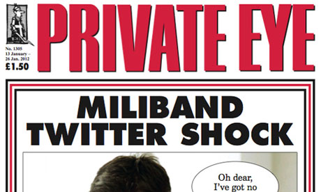 Private Eye - January 2012
