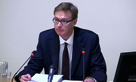Leveson inquiry: Jim Gray