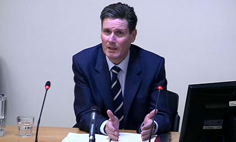 Leveson inquiry: Keir Starmer