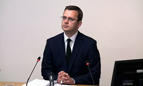 Leveson inquiry: Andy Coulson