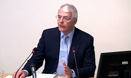 Leveson inquiry: John Major
