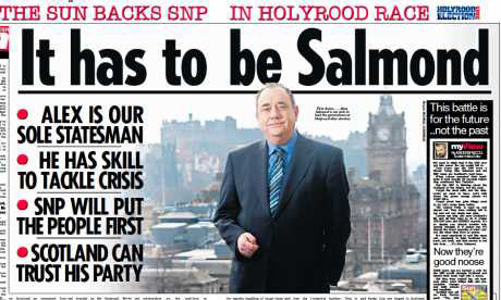The Scottish Sun supports the SNP