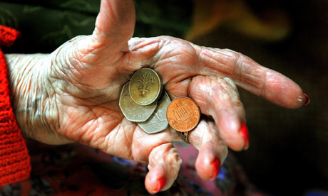 About 2 million pensioners are living in poverty in the UK, according to an ONS report