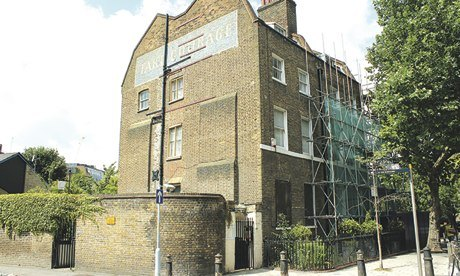 21 and 23 Park Street in Borough, south London, which Southwark Council is selling off for £2.3m.