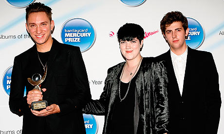 The xx win the Mercury prize 2010