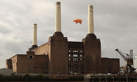 Music Heritage Uk Pigs Flying Over Battersea Power