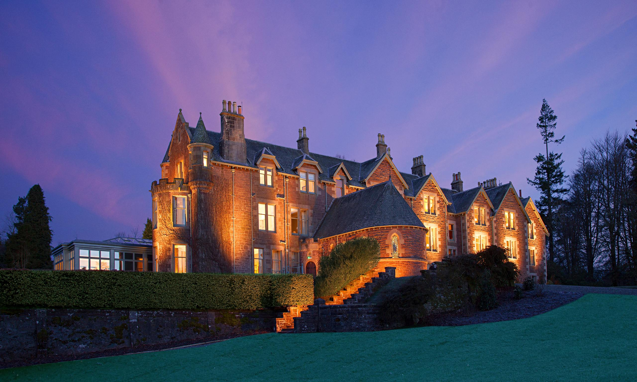 Game Set And Matching Hotel Andy Murray S Cromlix
