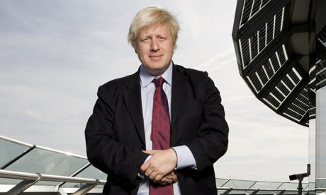 Boris Johnson is on social networking site Twitter