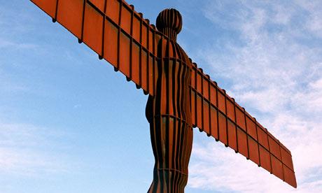Angel of North by Antony Gormley