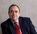 SNP party leader Alex Salmond MSP