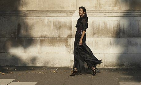 Farheen Allsopp (Ex-Model), Photographed In Knightsbridge, London.