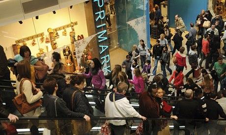 Westfield shopping centre in Stratford, east London, Britain - 26 Nov 2011
