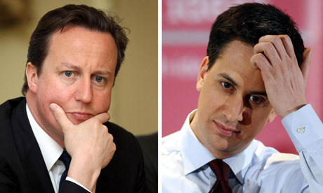 David Cameron and Ed Miliband, who are both making speeches about last week's riots