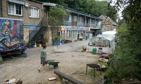 Landlords Welcome Positive Squatting Society The