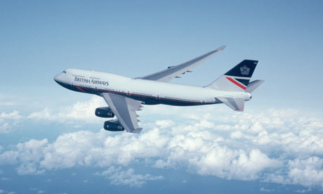 Boeing 747 in Flight