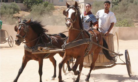 Off-beat Jordan: chariot racing, perfect for him and Hur   Travel ...