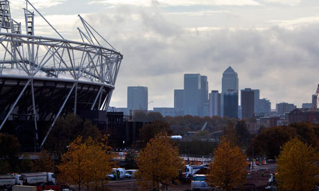 The Olympic Stadium in Stratford will be the focal point for next year's Games