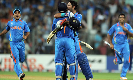 India V Sri Lanka Cricket World Cup 2011 As It Happened