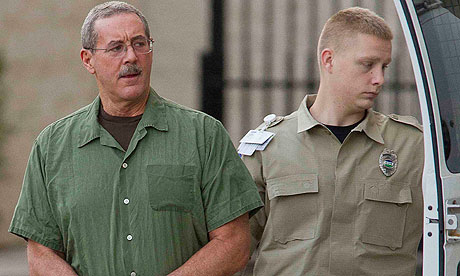 Allen Stanford arrives at the federal court in Houston