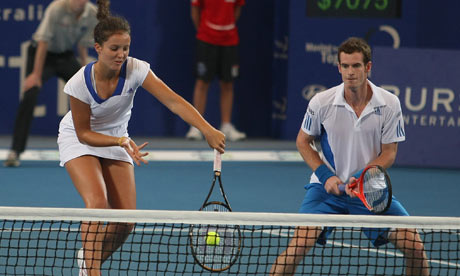 Andy Murray to partner Laura Robson in Olympics mixed ...
