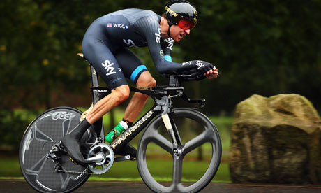 Fred's Bike: Bradley Wiggins targets world time trial title