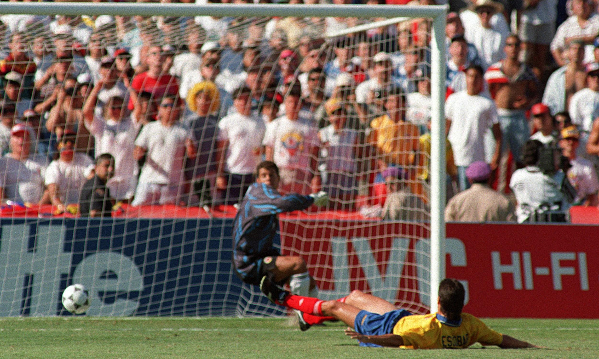 World Cup: 25 stunning moments … No7: Andrés Escobar's ...