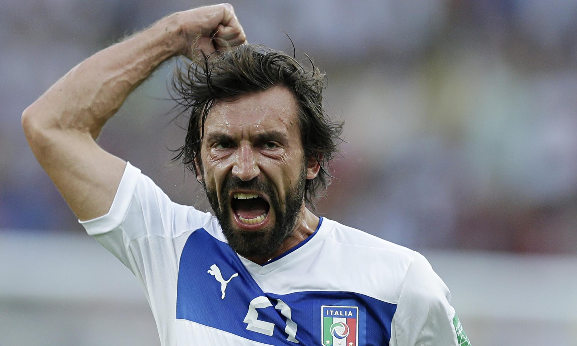 Andrea Pirlo Photos Photos - Armenia v Italy - FIFA 2014 ...  |Pirlo