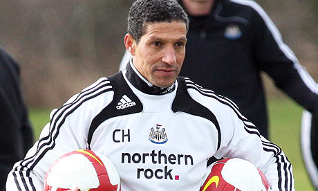 Hughton - Doing his best but is out of his depth