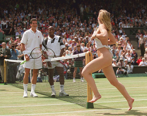 Naked Moments In Sports