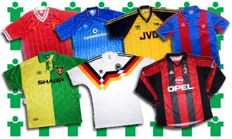 1a4c1a9dc6c Win £125 towards a retro kit at Classic Football Shirts