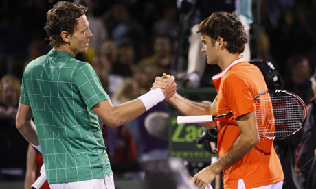 Roger Federer Vs Tomas Berdych Head To Head