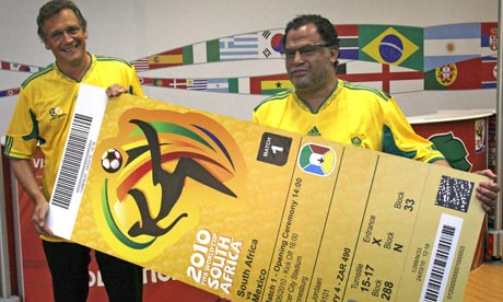 FIFA 2010 World cup South Africa information and tickets