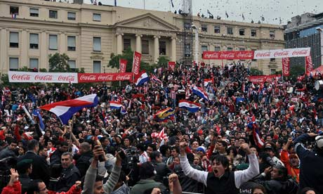 World Cup 2010: Paraguayans party in glare of unfamiliar ...