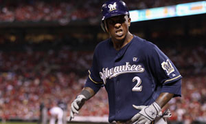 Nyjer Morgan, Milwaukee Brewers